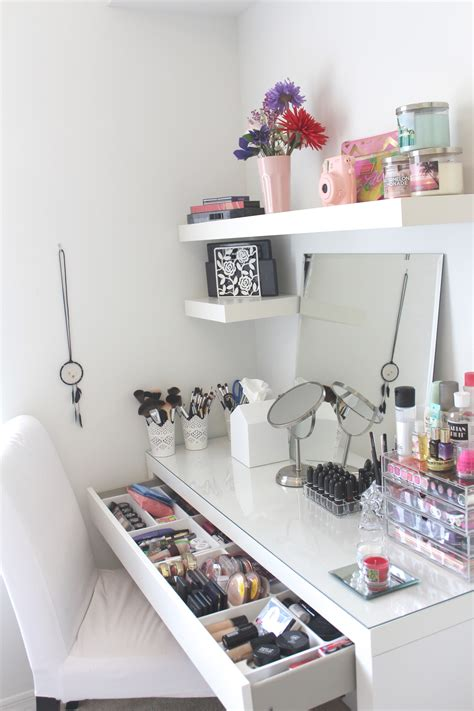Vanity Organization Diy Ideas