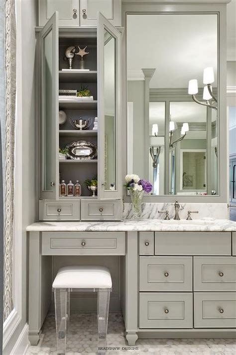 Vanity-Sink-With-Makeup-Area-Diy-Ideas