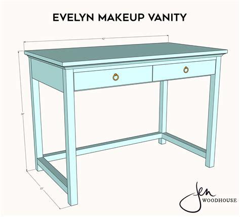Vanity-Table-Wood-Plans