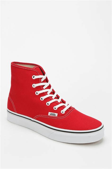 Vans Authentic Canvas High Top Sneaker