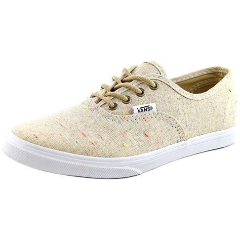 Vans Authentic Lo Pro Round Toe Canvas Sneakers
