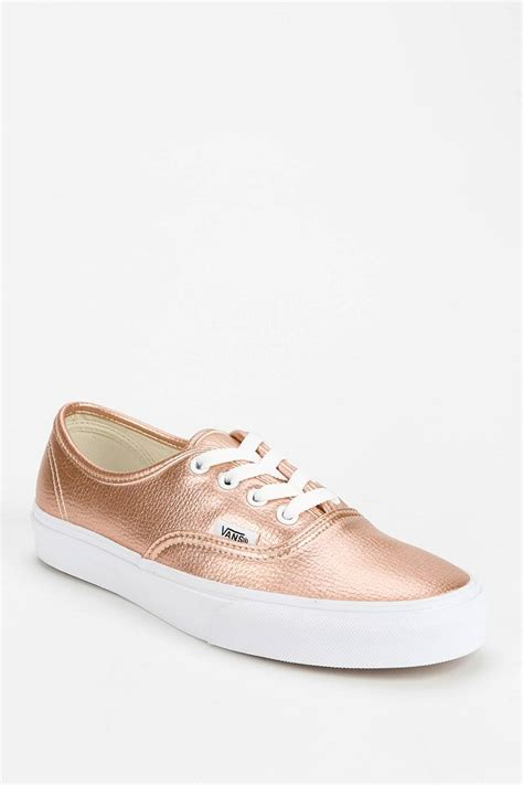 Vans Authentic Sneaker Metallic Pink