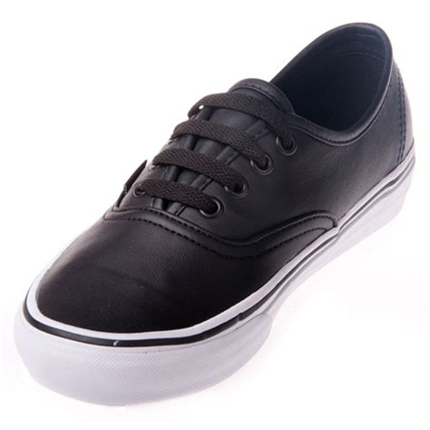 Vans Authentic Sneakers In Leather