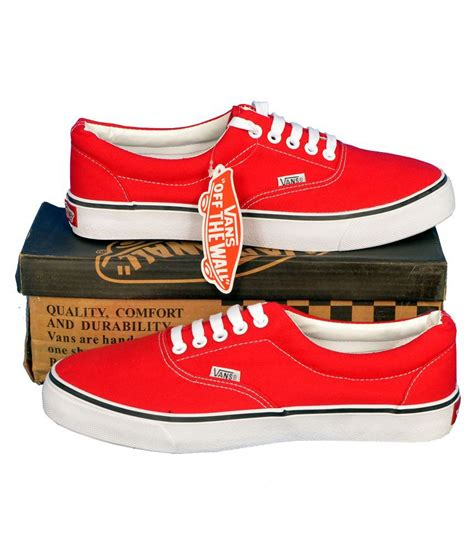 Vans Authentic Sneakers Red