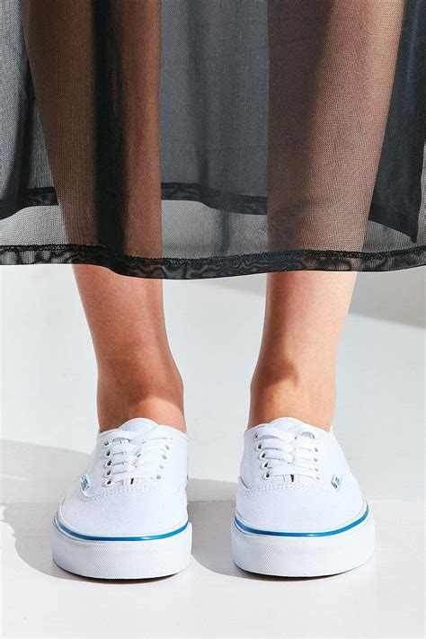 Vans Authentic Sneakers With Rainbow Sole