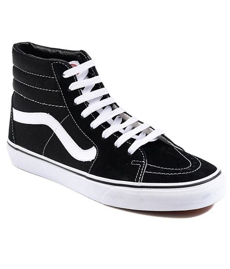 Vans Black Sneakers Online India