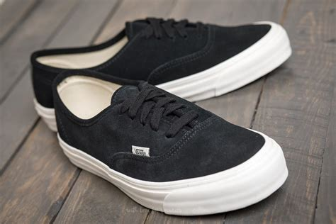 Vans Black Suede Og Authentic Lx Sneakers