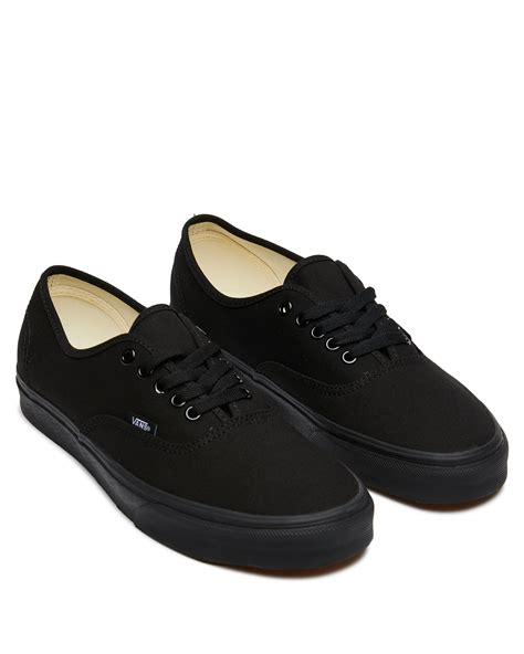 Vans Black Womens Sneakers