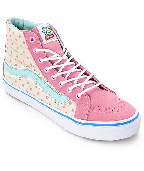 Vans Bo Peep Toy Story Hi Top Sneaker Shoes