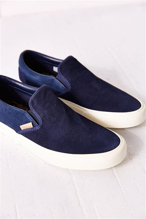 Vans Classic Knit Suede Slip On Womens Sneaker Urban Outfitters
