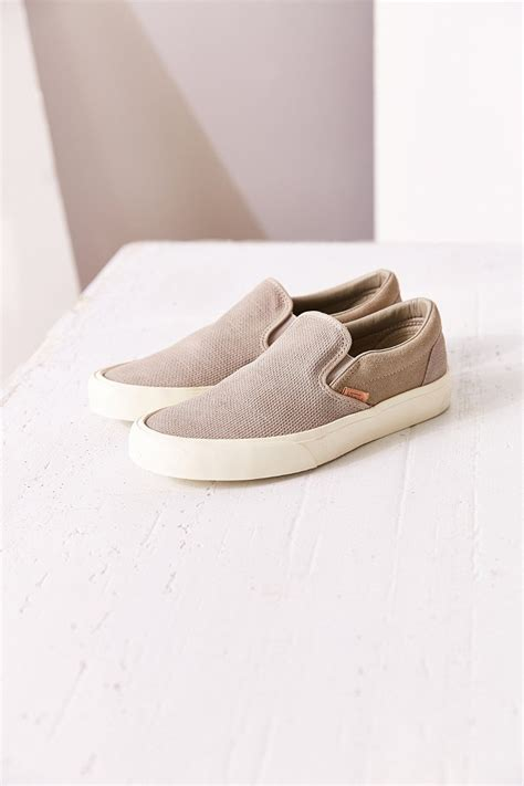 Vans Classic Knit Sueded Slip On Sneaker