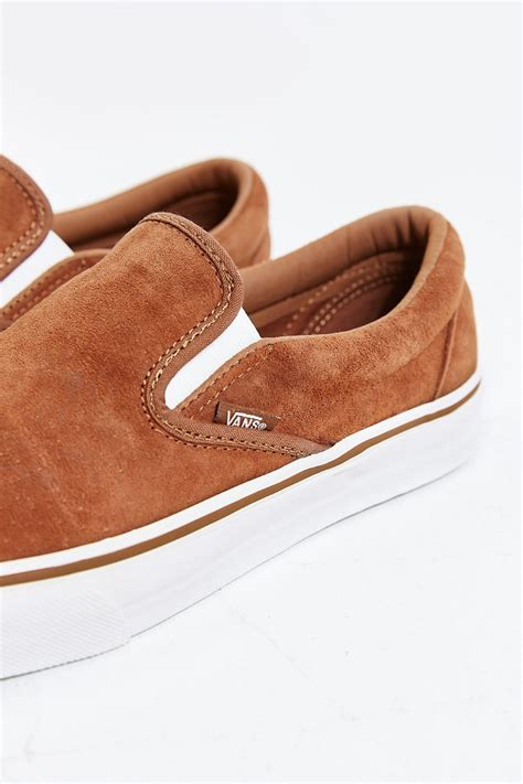 Vans Classic Slip-on Sneakers In Suede