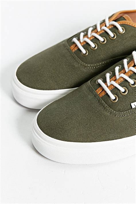 Vans Denim Sneakers Leather Trim
