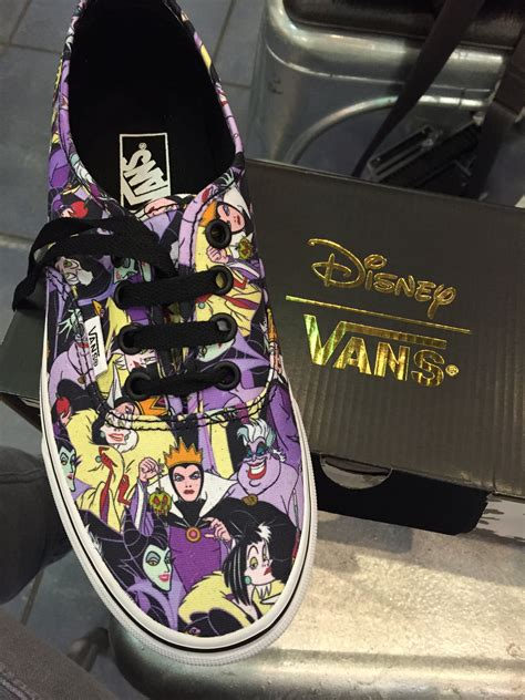 Vans Disney Villains Sneakers
