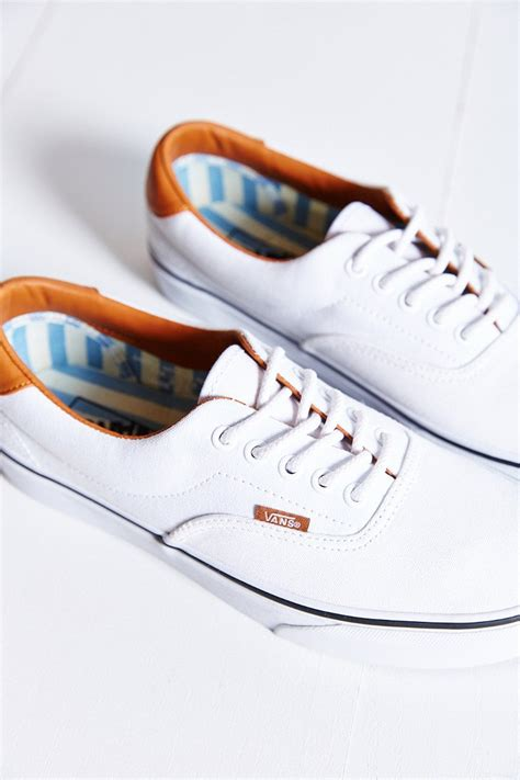 Vans Era 59 Washed Canvas Leather Sneaker