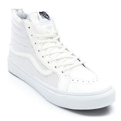 Vans Leather Sk8-hi Zip Womens High-top Sneaker
