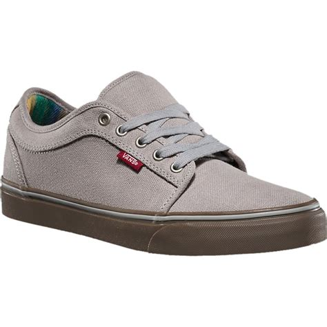 Vans Mens Chukka Low Leather Sneakers