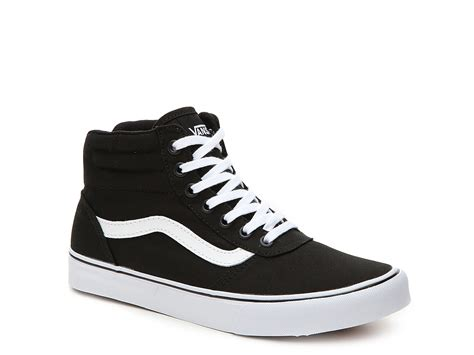 Vans Milton Hi Canvas High Top Sneaker Womens