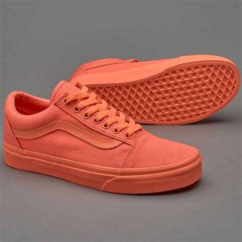 Vans Old Skool Monochrome Pack Sneakers Fusion Coral