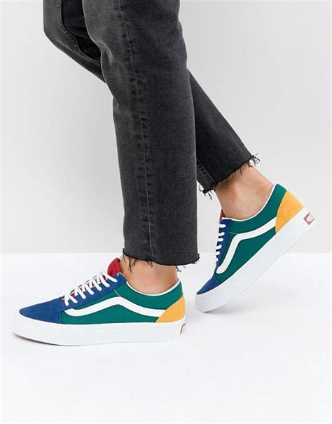 Vans Old Skool Sneaker In Primary Color Block