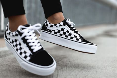 Vans Old Skool Sneakers Checkerboard