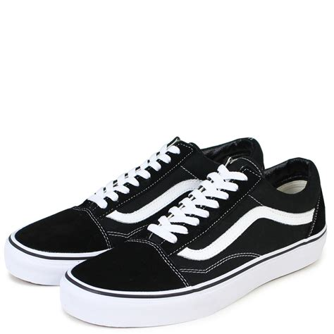 Vans Old Skool Sneakers In College Black