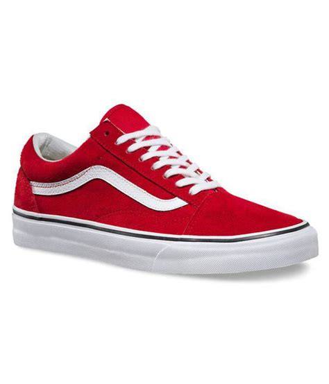 Vans Old Skool Sneakers In Red