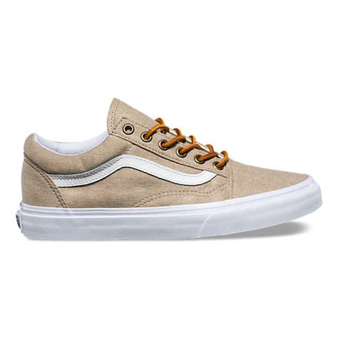 Vans Old Skool Sneakers In Washed Canvas