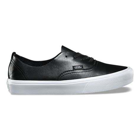 Vans Unisex Authentic Decon Lite Leather Sneaker Black