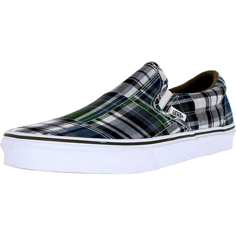 Vans Unisex Plaid Sneakers
