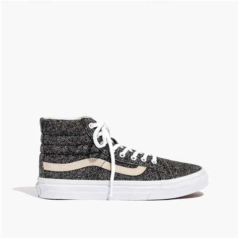 Vans Unisex Sk8 Hi High Top Sneakers In Marled Fabric