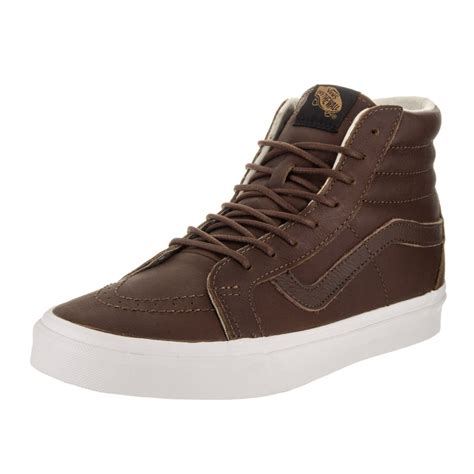 Vans Unisex Sk8 Hi Reissue Leather Sneakers