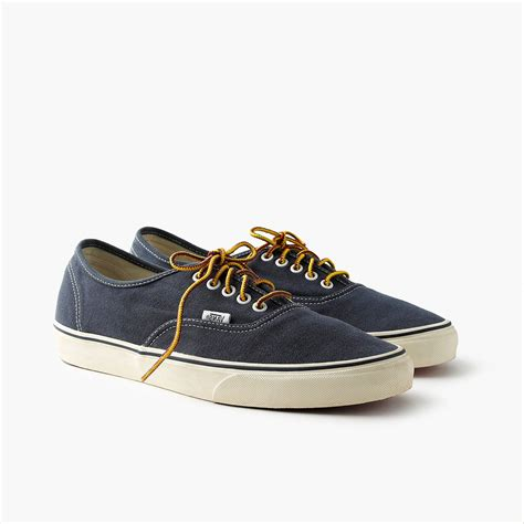 Vans Washed Canvas Sneakers