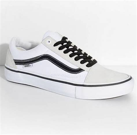 Vans White Sneakers Shoes