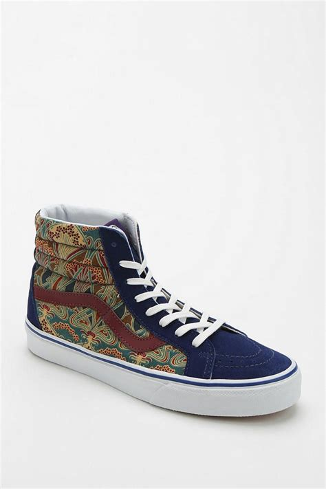 Vans X Liberty London Sk8-hi Womens High-top Sneaker