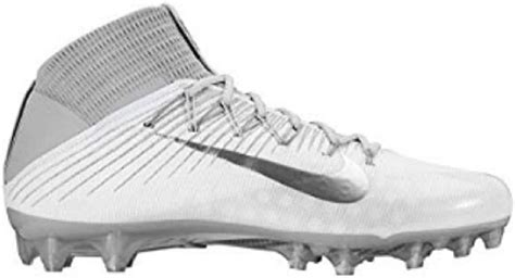 Vapor Untouchable Pro 2 Size 13 White/Metallic Silver-CL Grey
