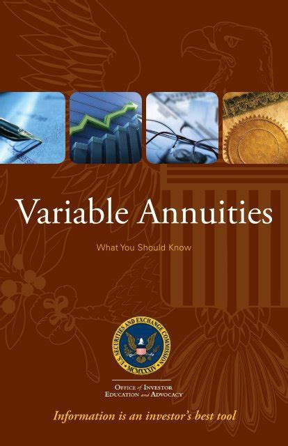[pdf] Variable Annuities What You Should Know - Sec.