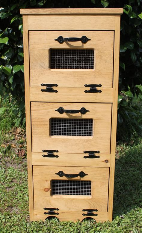Vegetable Potato Vegetable Potato Vegetable Storage Bin Woodworking
