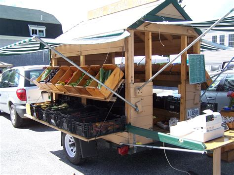Vegetable Stand On Trailer Diy Bunks