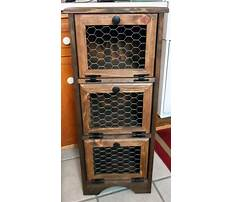 Best Vegetable cabinet plans