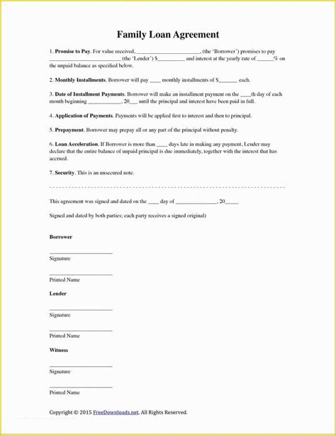 Vehicle Loan Agreement Pdf
