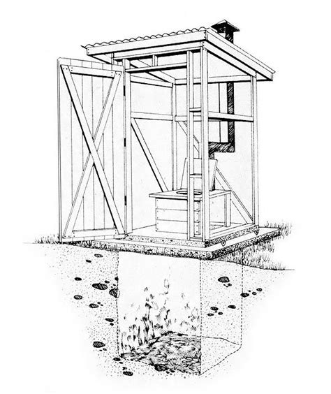 Vented-Outhouse-Plans