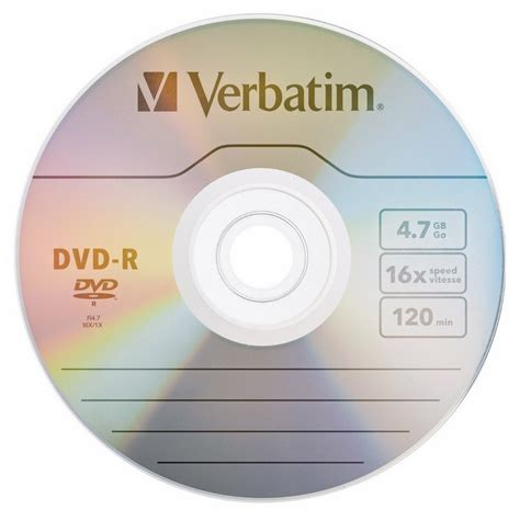 Verbatim 8x 4.7 GB DVD+R Spindle (50 Discs)