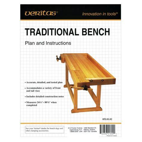 Veritas-Traditional-Workbench-Plan-Instructions