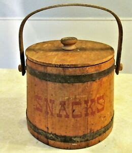 Vermont Wooden Buckets For Sale