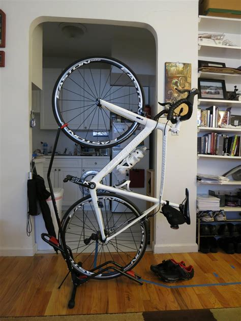 Vertical Bike Stand Diy School