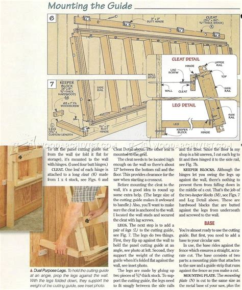 Vertical Panel Saw Plans Pdf