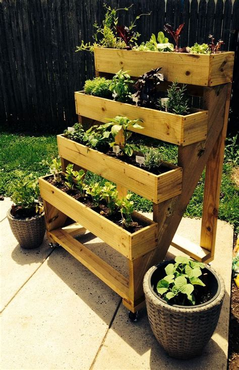Vertical Planter Diy