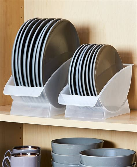 Vertical Plate Rack DIY