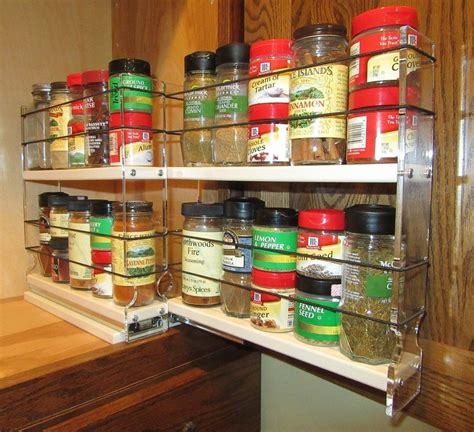 Vertical Spice Rack Drawer Diy Floor